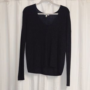BP Textured Stitch V-Neck Pullover
